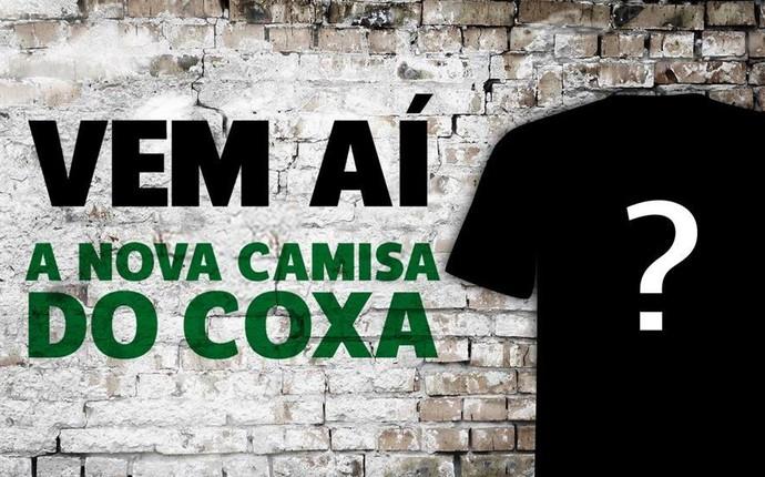Coritiba nova camisa (Foto: Divulgação Coritiba)