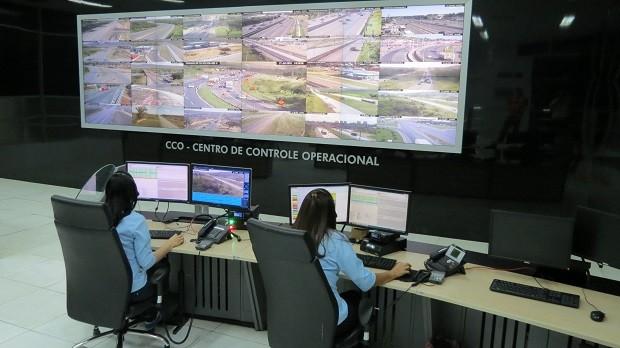 Centro de Controle Operacional da Via Bahia (Foto: Ascom/Via Bahia)