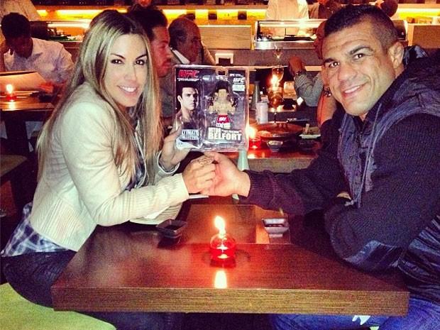 MMA Joana Prado e Vitor Belfort (Foto: Reprodução/Instagram)