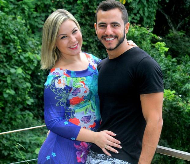 Matheus e Cacau (Foto: Daniel Delmiro/AgNews)