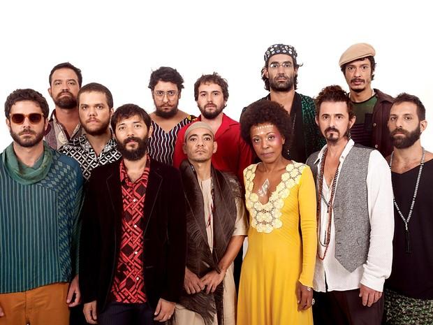 Músicos da Abayomy Afrobeat Orquestra, do Rio de Janeiro, atração deste fim de semana do Instrumenta Brasília (Foto: João Salomão/Divulgação)