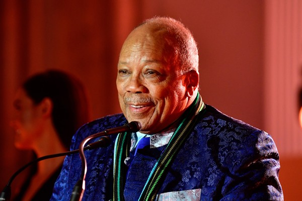 O produtor Quincy Jones (Foto: Getty Images)