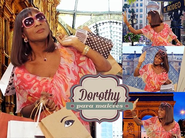 Dorothy Benson caminha mundo afora em busca de estilo e glamour (Foto: Parker TV)