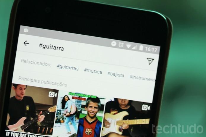 Hashtags do Instagram revelam posts públicos; entenda se o seu aparece nesta lista (Foto: Melissa Cruz / TechTudo)