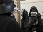 Darth Vader da vida real na Ucrânia; FOTOS