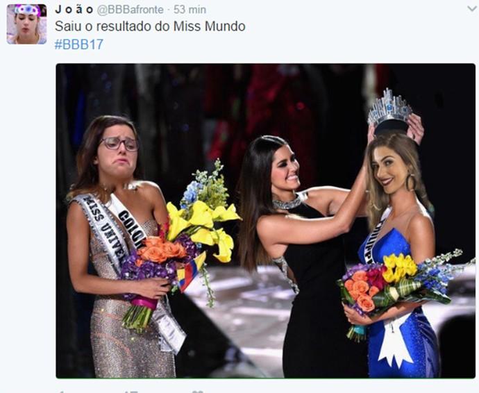 Miss Mundo Emilly Vivian (Foto: Reprodução/Internet)