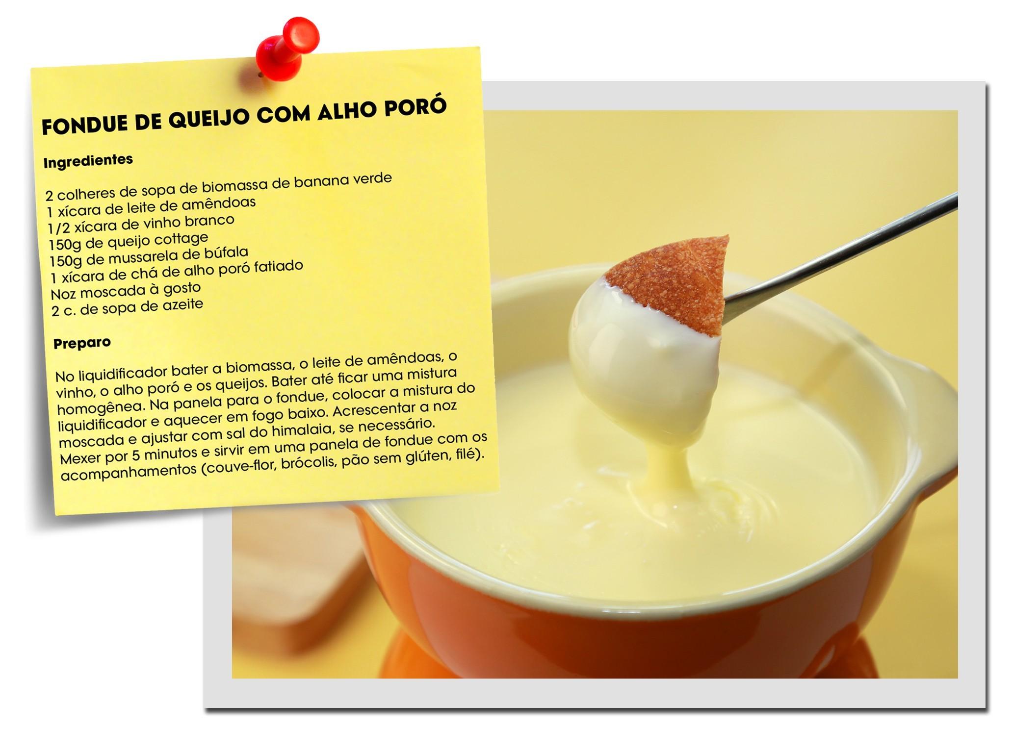 Aprenda a fazer versões saudáveis e menos calóricas de fondue