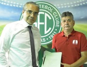 Palmeron Mendes Filho candidato Guarani (Foto: Gabriel Ferrari / Guarani Press)