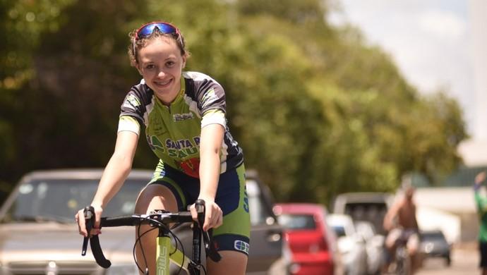 Amanda Kunkel, ciclismo de estrada, Jogos Escolares da Juventude, JEJs (Foto: Saulo Cruz/Exemplus/COB)