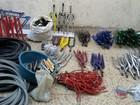 Homens são presos por venda de material furtado em Valadares
