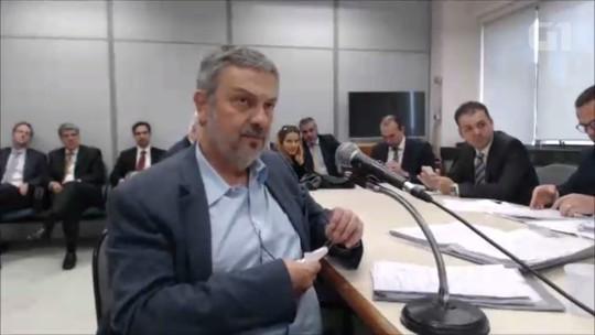 Assista ao depoimento de Antonio Palocci ao juiz Sérgio Moro