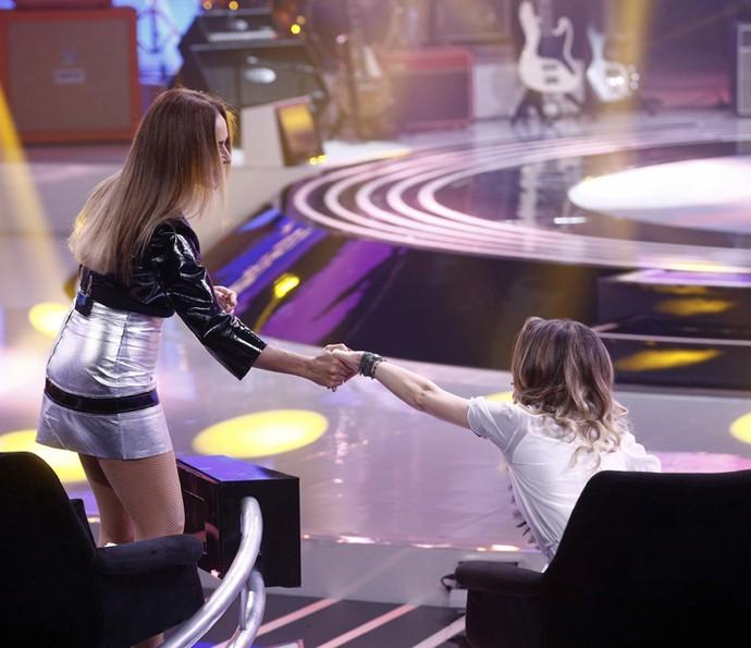 Sandy e Daniela  (Foto: Inácio Moraes/Gshow)