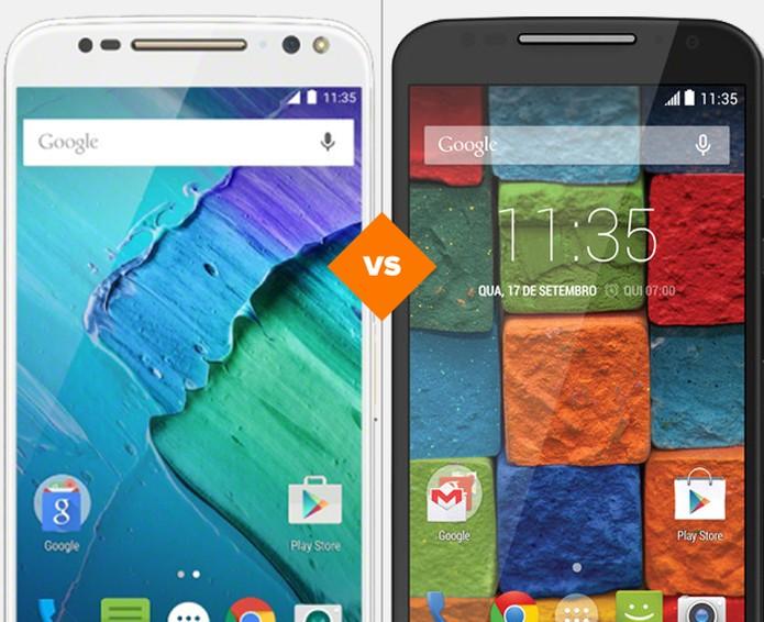 Será que o novo top de linha da Motorola consegue desbancar o Moto X 2014?  (Foto: Arte/TechTudo)