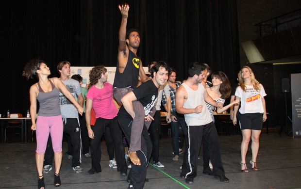 "Ensaio do musical ""Rock in Rio"" (Foto: Graça Paes / Foto Rio News)"