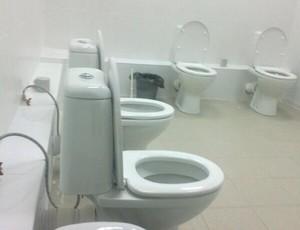 banheiro Sochi (Foto: Reprodução / Twitter)