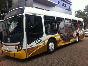 Ônibus especial fará transporte de turistas  (Foto: Rafaella Fraga/G1)