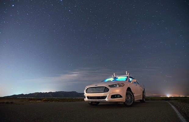 Ford testa carros autônomos à noite, na mais completa escuridão (Foto: Divulgação)