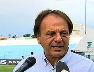 Adib Elias, diretor de futebol do Crac (Foto: Reprodução/TV Anhanguera)