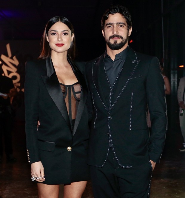 Thaila Ayala e Renato Góes (Foto: Manuela Scarpa e Rafael Cusato/Brazil News)