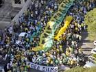 Manifestantes protestam em Limeira, Santa Bárbara d'Oeste e Capivari, SP