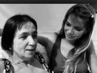 Em rede social, Fani se declara para a mãe: 'Eu te amo'