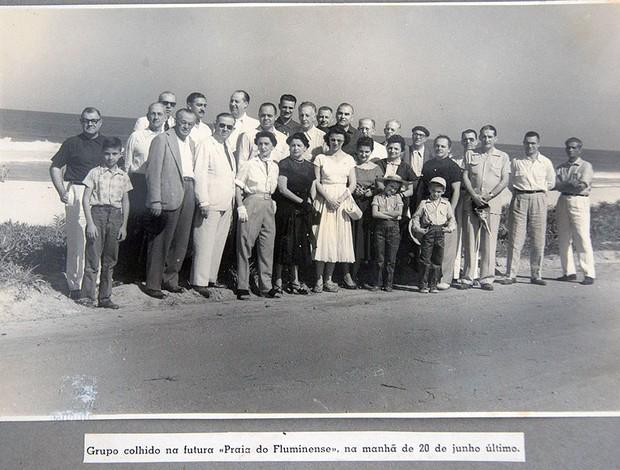 terreno Fluminense Barra da Tijuca arquivo (Foto: Arquivo / Acervo Flumemória)