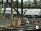 FBI investigará acidente de trem que matou oito nos EUA