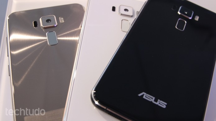 Zenfone 3 traz corpo de metal e revestimento com Gorilla Glass 2.5D (Foto: Fabrício Vitorino/TechTudo)