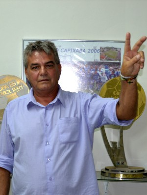 José Nicodemus Venturini, novo presidente do Vitória FC (Foto: Richard Pinheiro/Globoesporte.com)