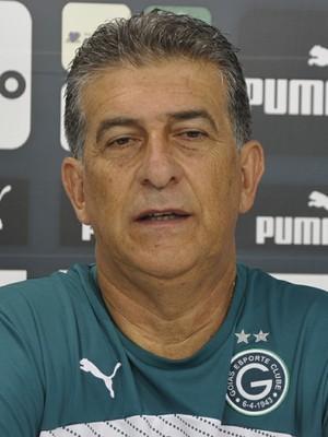 Ricardo Drubscky, técnico do Goiás (Foto: Guilherme Gonçalves/GloboEsporte.com)