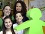 Jovens do Click Esperança visitam a sede da Unesco no país, em Brasília