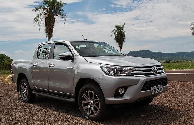 Nova Toyota Hilux Percorremos Mais De 500 Km Com A Picape No