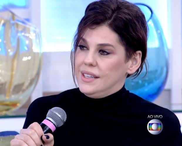 Bárbara Paz abre o jogo sobre falta de privacidade (Foto: Reprodução/ TV Globo)