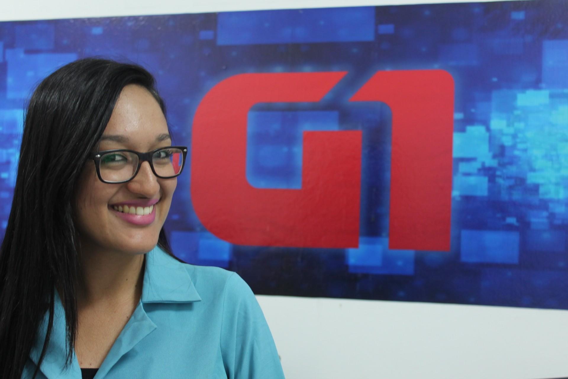Juliane Peixinho é repórter do portal G1 da TV Grande Rio (Foto: Emerson Rocha)