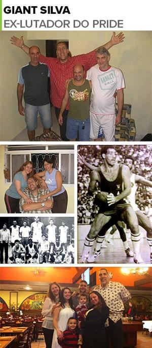 MOSAICO Giant Silva ex-lutador do Pride (Foto: GloboEsporte.com)