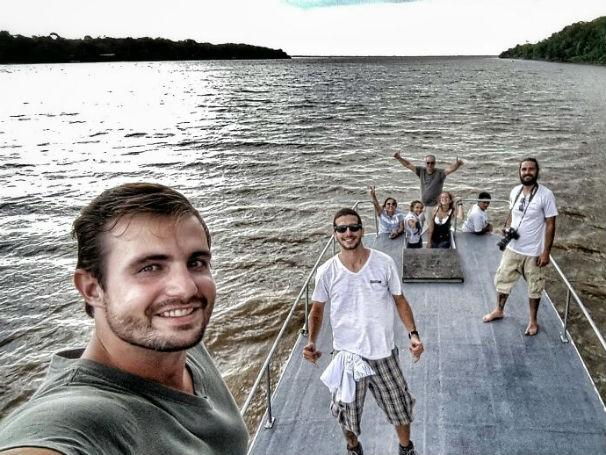 Equipe do Como Será? foi à Ilha do Combu, no Pará (Foto: Divulgação)