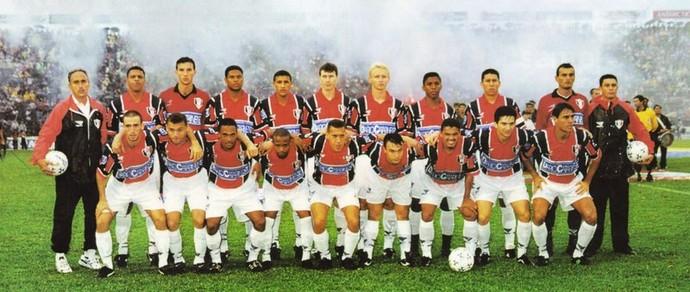 Joinville campeão catarinense 2000 (Foto: Divulgação)