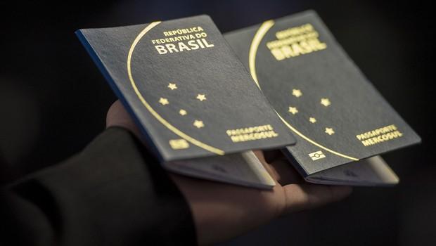 Passaporte Brasil (Foto: Marcelo Camargo/ Agência Brasil)