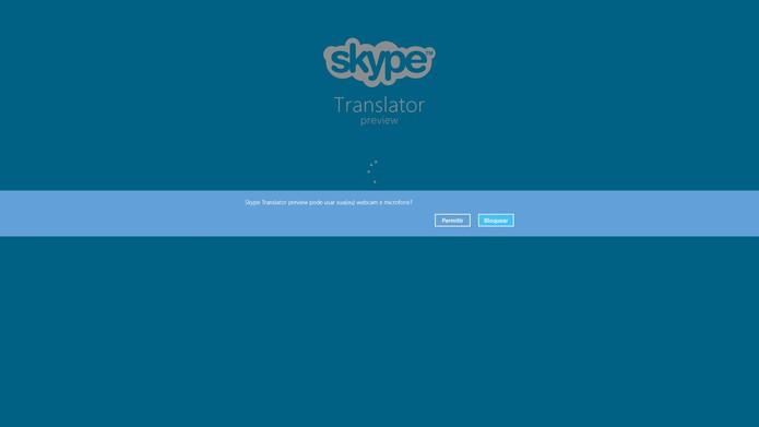 Permita que o Skype tenha acesso ao microfone e câmera (Foto: Reprodução/Juliana Pixinine)