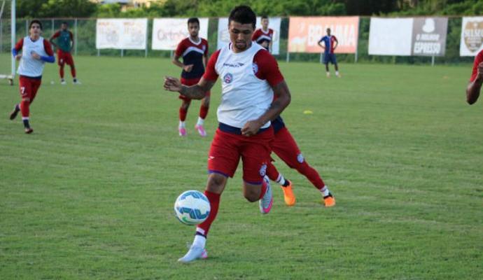 Bahia treino no Fazendão (Foto: Divulgação / E.C. Bahia)