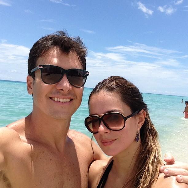 Vera Viel e Rodrigo Faro (Foto: Instagram / Reprodução)