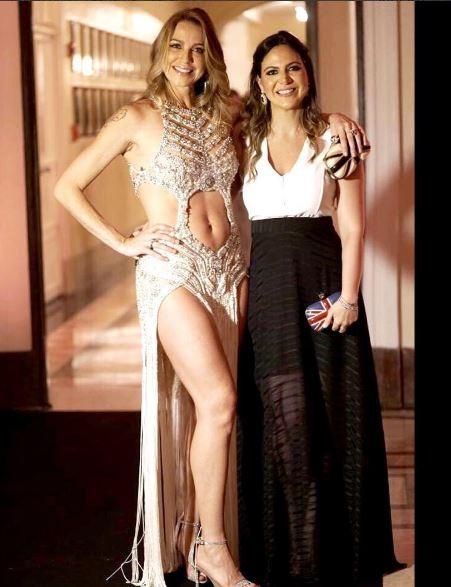 Luana Piovani e Carol Sampaio (Foto: Reprodução/Instagram)
