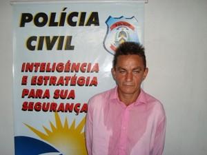 Suspeito foi preso em Guaraí após mandado de busca e apreensão (Foto: Divulgação/SSP TO)