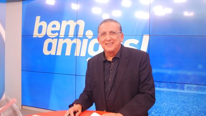 Galvão Bueno comanda o Bem, Amigos (Foto: Marcos Guerra)