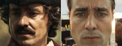 Antes e depois do visual dos atores de 'Liberdade'