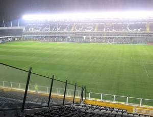 Santos e Vasco Vila Belmiro (Foto: Lincoln chaves)