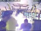 Grupo coloca fogo em ônibus e assalta passageiros em São Luís-MA