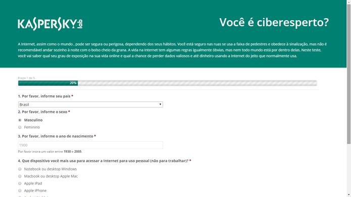 Teste da Kaspersky Lab compara sites legítimos e tentativas de phishing (Foto: Reprodução/Kaspersky Lab)