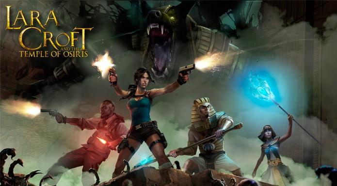 Lara Croft and the Temple of Osiris ganha trailer com mais combate a ação (Foto: Divulgação)