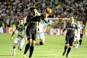 Alexandre pato Luverdense e Corinthians (Foto: Chico Ferreira / Agência estado)